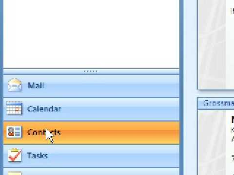 Microsoft Outlook 2007 - Create a Distribution List