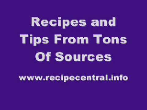 Recipe Central: Absolutely Free Recipes, Cooking Tips, Blog and More