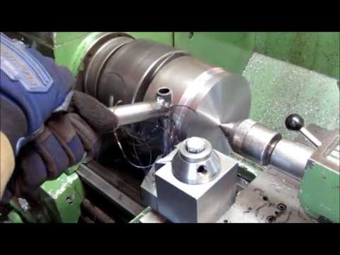 Machining a tube bending die on my Colchester lathe and Excello mill