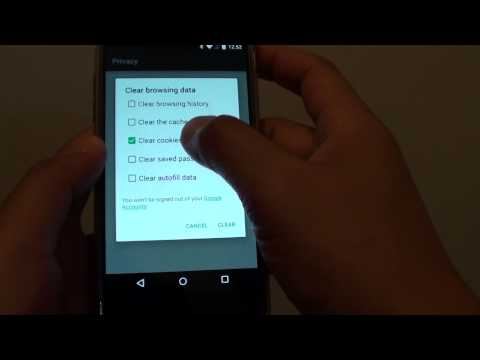 Google Nexus 5: How to Clear Saved Password on Chrome Browser