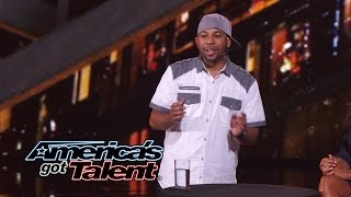 Smoothini: Street Magician Makes Money Disappear - America's Got Talent 2014