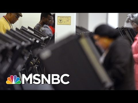 DOJ Sides With NAACP In Purge Of North Carolina Voter Lists   Andrea Mitchell   MSNBC