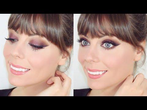 TUTO MAKEUP : Maquillage libanais prune et marron ♡