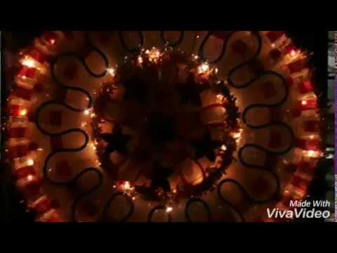 DIY Parol with Lights (Recycled Bottles)