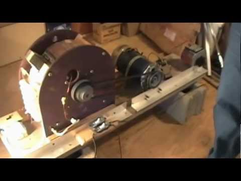 Self Running 40kW 40,000 Watt Fuelless Generator Full Video