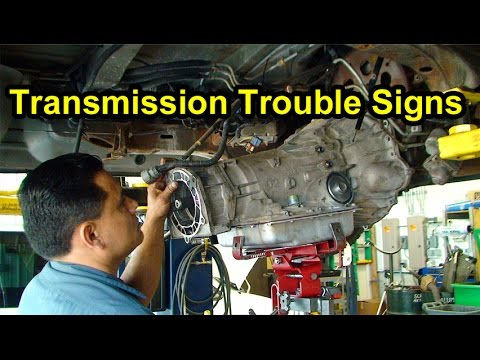 Transmission Trouble Signs:  Checking Fluid Level, Color & Smell