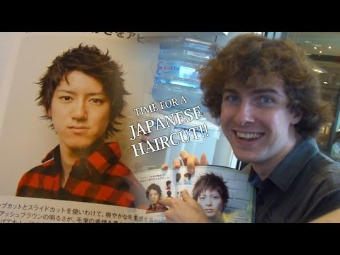 JAPANESE HAIRCUT TIME! (Student Exchange in Japan)