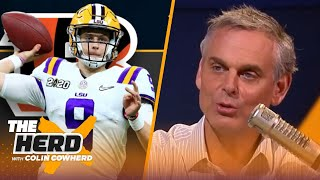 Colin Cowherd predicts when rookie QBs will get their first career wins | NFL | THE HERD