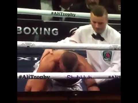Chris Eunabk Jr Vs Avni Yildirim 3rd Round Knock out