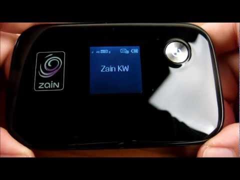 Zain 4G LTE Hotspot Review in Arabic