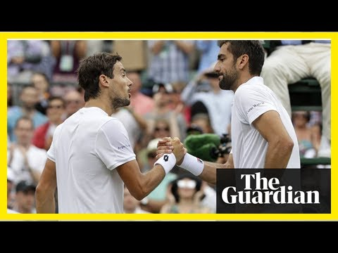 Marin Cilic falls to shock defeat at Wimbledon after Pella match resumes | k production channel