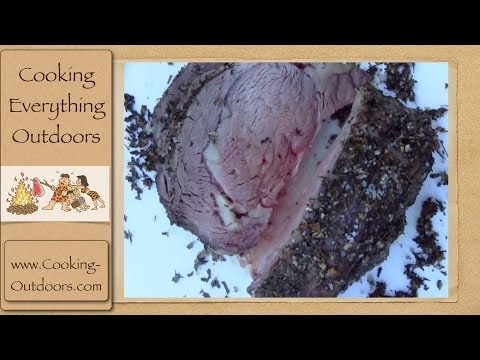 Salt Encrusted Prime Rib Recipe | Dutch oven cooking
