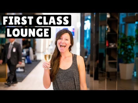 5 AIRPORT LOUNGES | FIRST & BUSINESS CLASS! 40 Hours Korea to Italy