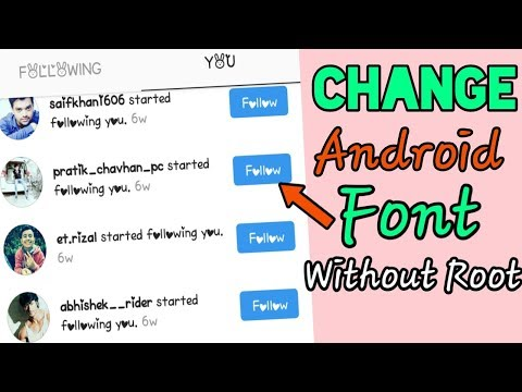 How to Change Font Style in Any Android Device [Without Root]