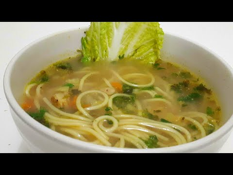 Chicken Noodle Soup recipe | How to make Chicken Noodle Soup like a chef