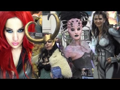 The Hottest Cosplay from Comic Con 2013!