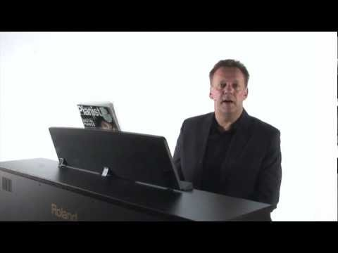 Piano Lesson for the beginner pianist - W F Bach Minuet