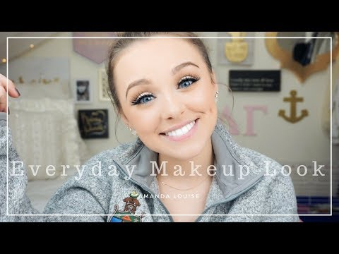 Everyday Makeup Routine ll Amanda Louise
