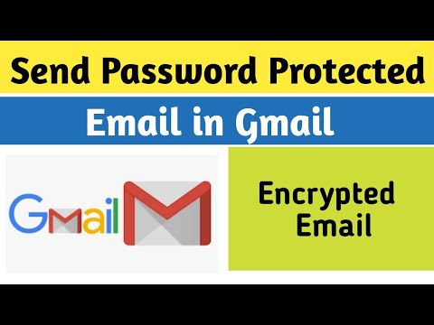 How to Send Password Protected and Encrypted Email in Gmail