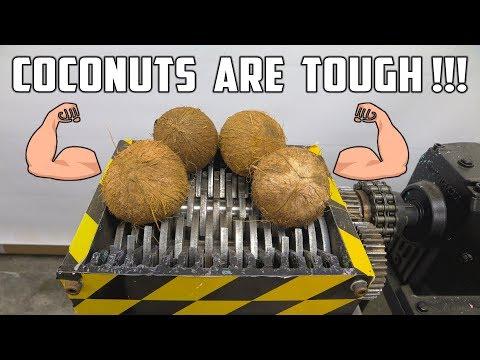 Shredding 4 Coconuts
