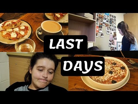 LAST DAYS OF FIRST YEAR | hangover cure, cleaning & packing :(