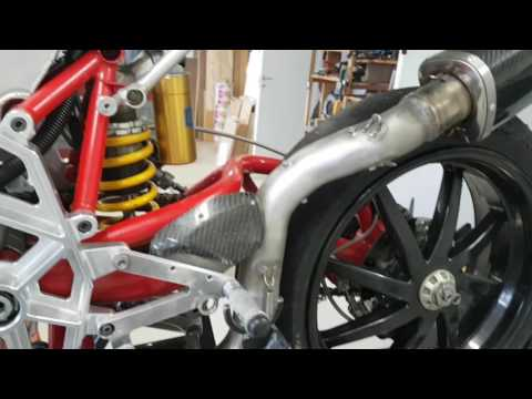 Exhaust design and heat shield