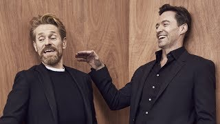 Actors on Actors: Hugh Jackman and Willem Dafoe (Full Video)