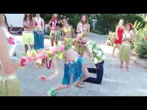 Trochę egzotyki... czyli wieczór panieński w stylu hawajskim