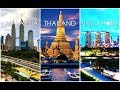 Thailand,Malaysia and Singapore All In One Trip 2018