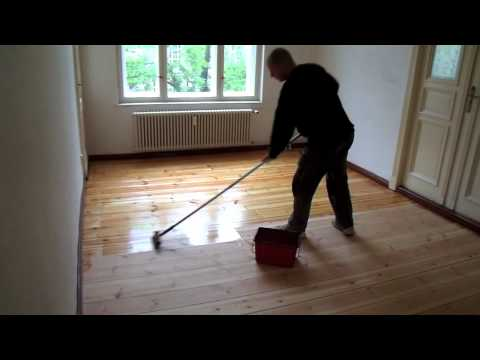 HOW TO REFINISH A WOODEN FLOOR WITH OIL, refinishing a hardwood floor