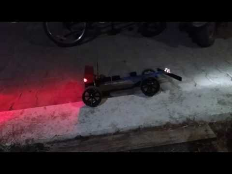 Rc car wood chassis