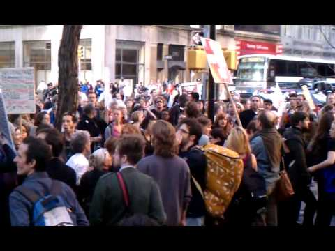Occupy Wall Street Oct 05 2011 Federal Plaza NYC part 3