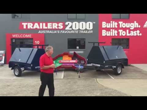 Tradesmans Trailers By Trailers 2000