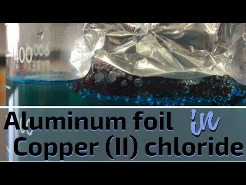 Aluminum and Copper (II) Chloride Reaction