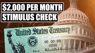 Senators JUST CONFIRMED The Need For $2,000 Per Month Stimulus Checks || 2nd Stimulus Check Update