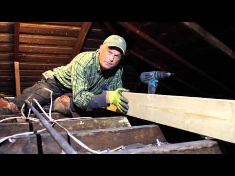Historic Home Attic Strong Back