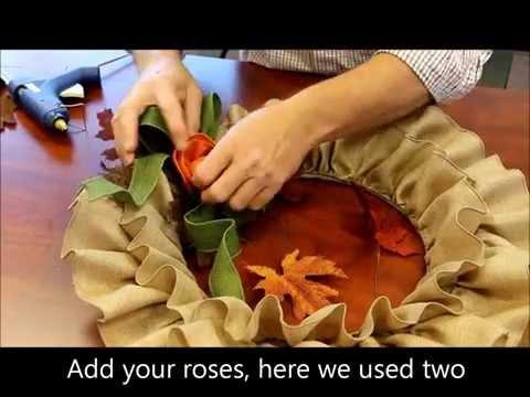 Fall Ruffle Wreath