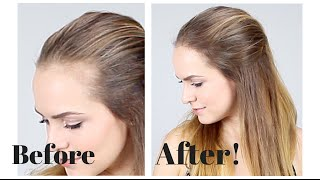 How to Hide Recession in Your Hair Line