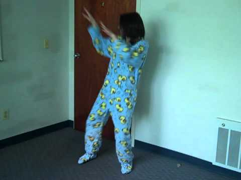 This is How We Do It -- Footed Pajamas!