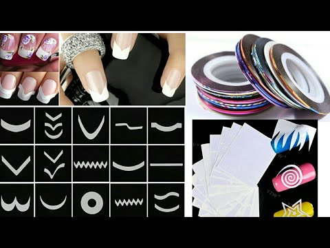 How to make your own nail stencils at home  DIY tutorial   