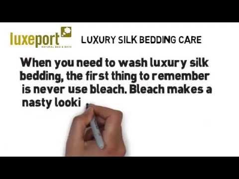 Washing Silk Bedding