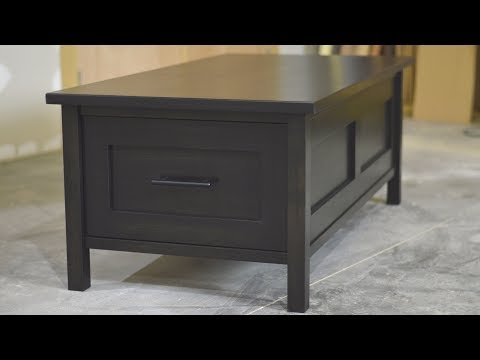 Lets build a coffee table with drawers