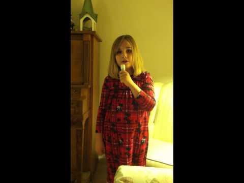 Lauren sings God Bless America