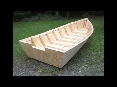 Wood Boat Plans Stitch & Glue - Large Wooden Boat Building