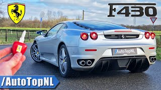 Ferrari F430 REVIEW on AUTOBAHN (NO SPEED LIMIT) & ROAD by AutoTopNL