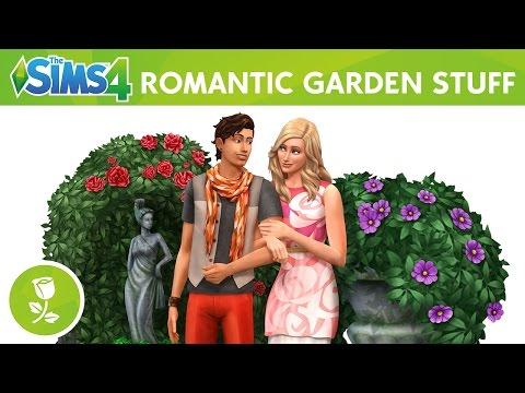 The Sims 4 Romantic Garden Stuff: Official Trailer