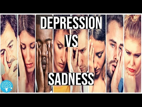 Depression VS Sadness | What's The Difference?
