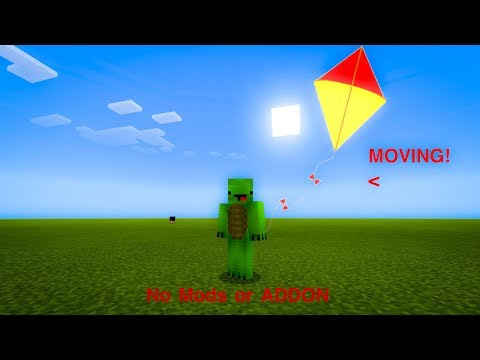 Minecraft PE | How to make a Working Kite