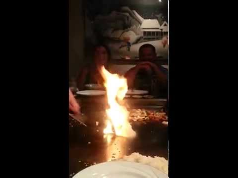 Hibachi Onion Volcano