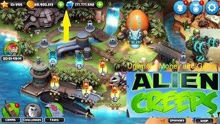 Alien Creeps TD Hack 2.22.2 Mod 100% Successful (Unlimited Coins & Gems)